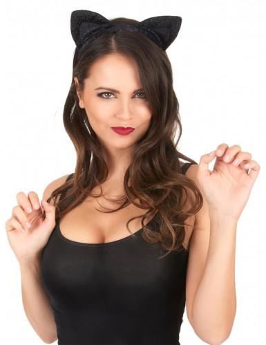Oreilles de chat noires-1