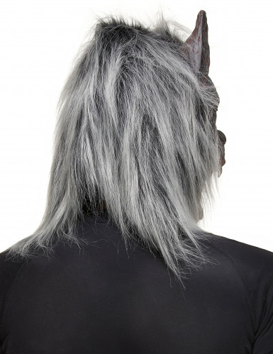 Masque loup garou adulte en latex-1