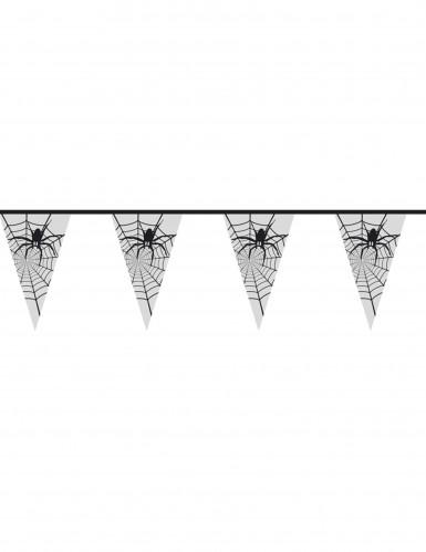 Guirlande araignée transparente halloween