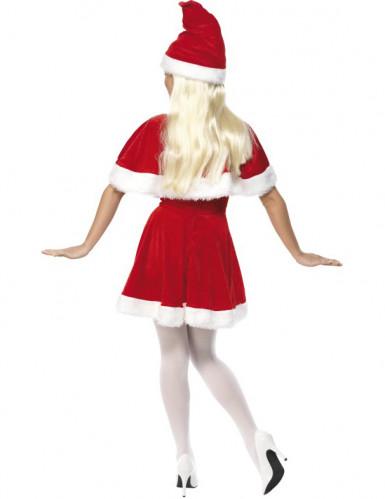 Déguisement Mère Noël avec cape femme-1