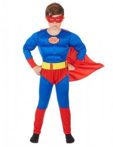 Déguisement matelassé super héros garçon