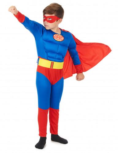 Déguisement matelassé super héros garçon-1