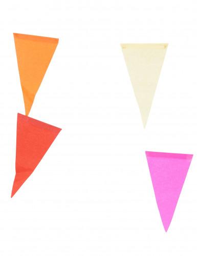 Guirlande multicolore en papier 10 m-1