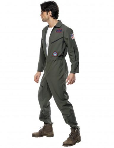 Déguisement pilote de ligne Top Gun™ homme-1