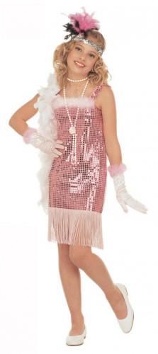 Déguisement cabaret rose Marilyn fille