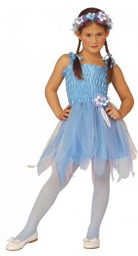Déguisement fée ballerine bleue fille