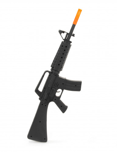 Fusil d'assaut sonore de soldat M16 en plastique