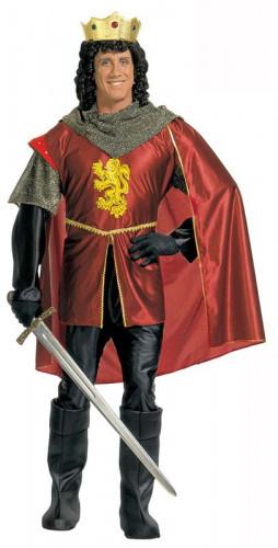 Déguisement roi médiéval homme