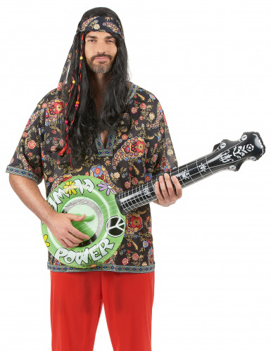 Banjo gonflable hippie-3