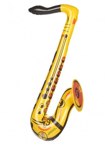 Saxophone gonflable jaune adulte