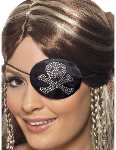 Cache-oeil pirate femme-1