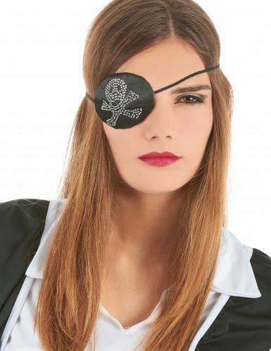 Cache-oeil pirate femme-2
