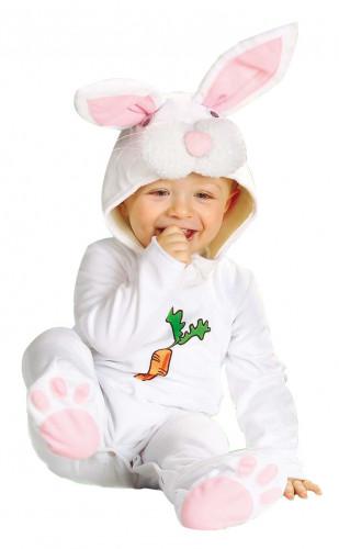 Déguisement lapin blanc bébé