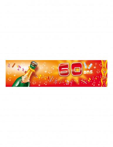 Bannière d'anniversaire 60 ans 70 ans 80 ans