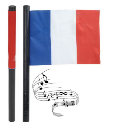 Drapeau supporter sonore de l'équipe de France