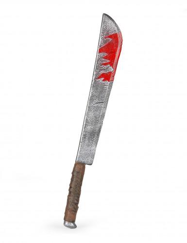 Couteau ensanglanté Halloween en plastique