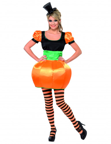 Déguisement citrouille femme Halloween