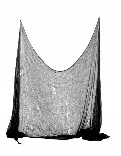 Décoration drap noir Halloween 300 x 75 cm