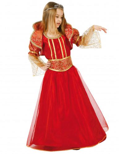 Déguisement reine baroque fille
