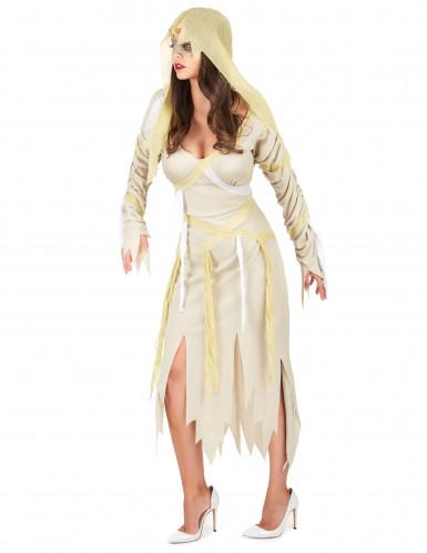 Déguisement momie beige femme