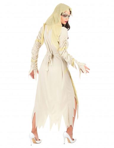 Déguisement momie beige femme-2