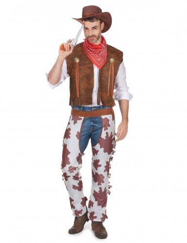 Déguisement cowboy classique homme
