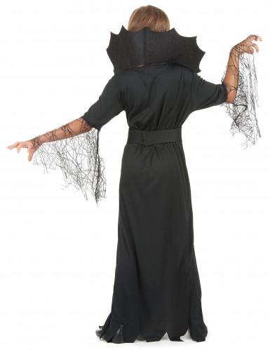 Déguisement sorcière araignée dorée fille Halloween-2
