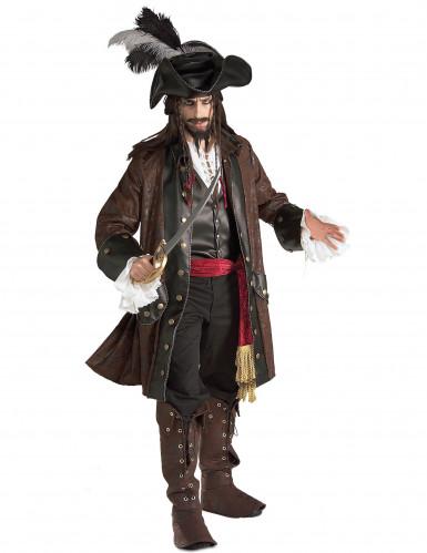 Déguisement pirate des caraïbes luxe homme