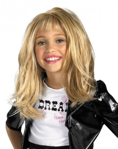 Perruque Hannah Montana™ fille