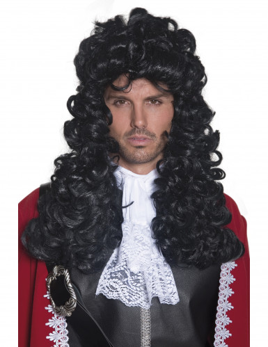 Perruque longue pirate homme