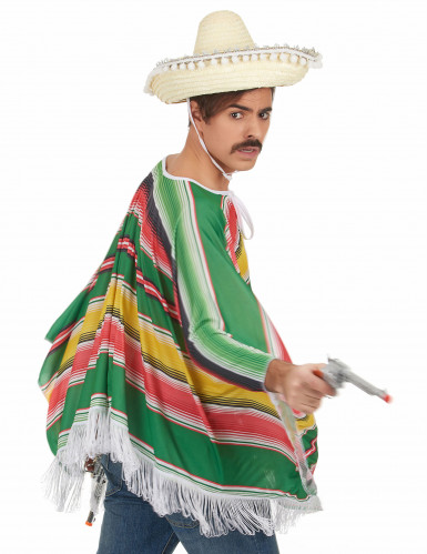 Déguisement mexicain à franges homme-2