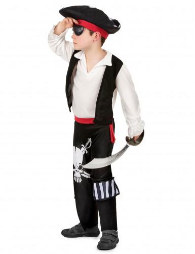 Déguisement pirate ceinture rouge garçon-1