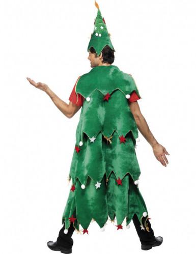Disfraz de �rbol de Navidad para adulto