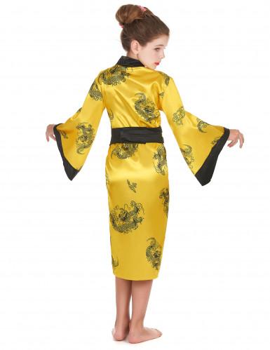 Déguisement chinoise jaune fille-2