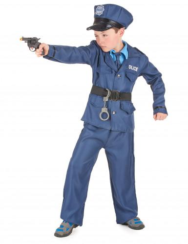 Déguisement policier bleu enfant-1
