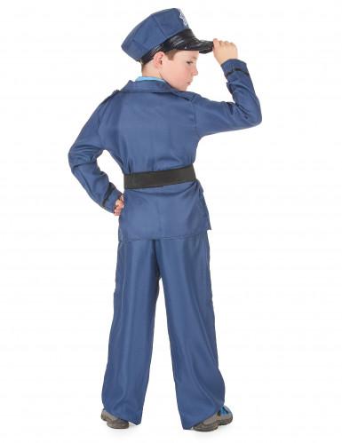 Déguisement policier bleu enfant-2