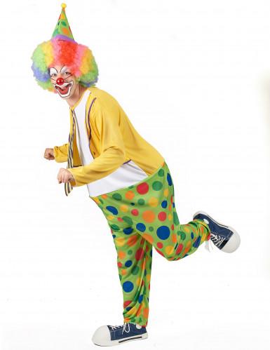 Déguisement clown festif homme-1