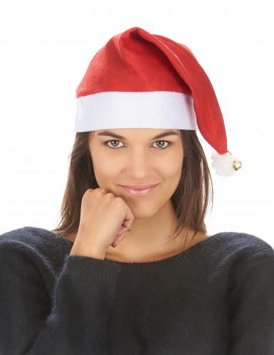 Bonnet de Noël avec grelot adulte-2