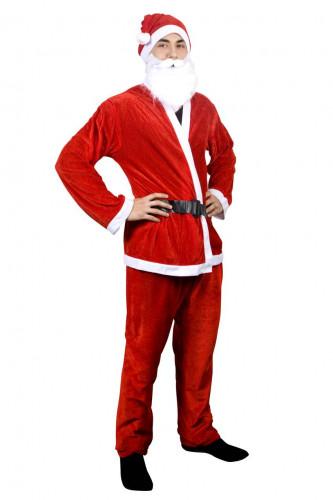 Déguisement Père Noël rouge homme