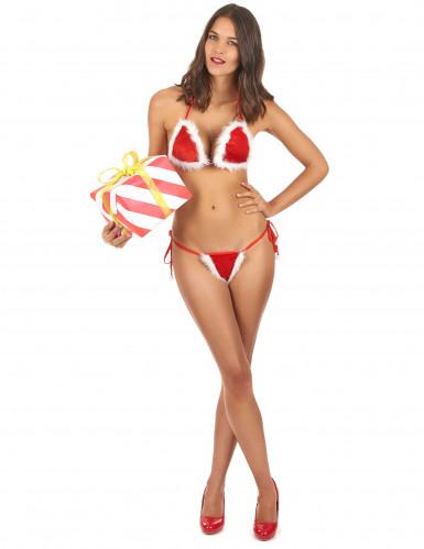 Maillot de bain sexy femme Noël