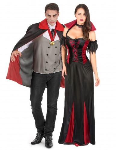 Déguisement couple de vampire
