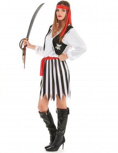 Déguisement pirate des mers femme-1