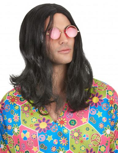 Perruque hippie homme