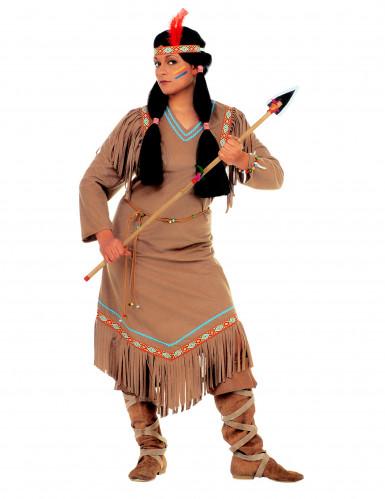 Déguisement indienne femme-1