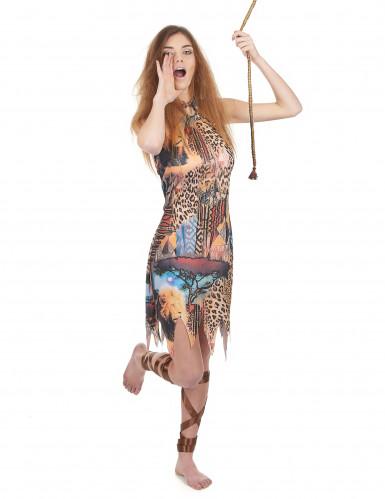 Déguisement femme de la jungle