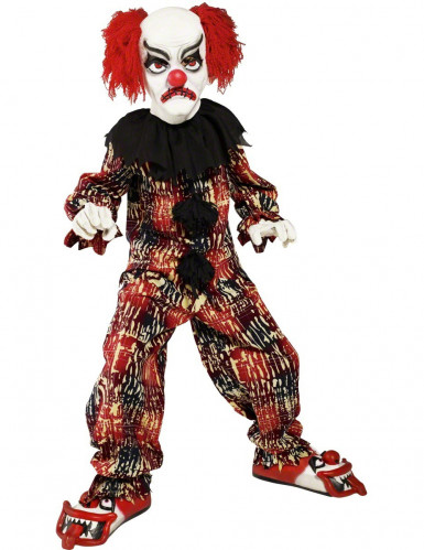 Déguisement clown terrifiant enfant Halloween
