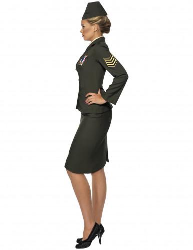 Déguisement officier militaire femme -1