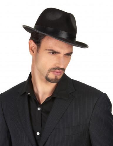 Chapeau gangster noir -1