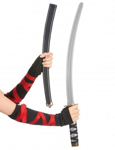 Sabre ninja adulte en plastique-1