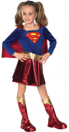 Déguisement Supergirl™ satiné fille